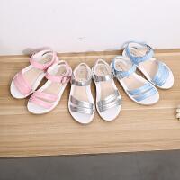 露趾童鞋女童凉鞋中小童公主鞋宝宝凉鞋潮甜美沙滩鞋