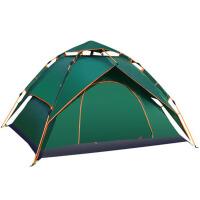 野外露营自驾游全自动帐篷户外3-4人二室一厅家庭双人2人厚款