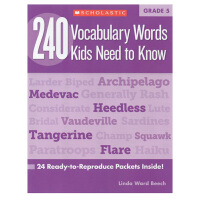 【五年级】240 Vocabulary Words Kids Need to Know Grade 5 学乐词汇练习册