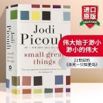 Small Great Things 英文原版小说 渺小的伟大 姐姐的守护者作者 朱迪皮考特新作 纽约时报推荐 英文版