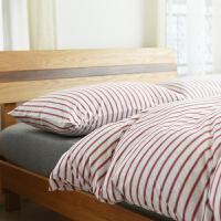 天竺棉四件套针织棉床罩全棉被套床单婴儿可用级床上用品