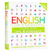 人人学英语3 英文原版 English for Everyone Course Book Level 3 Interm