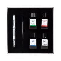 广博(guangbo)钢笔墨水礼盒套送礼品签字笔学生文具F笔尖 墨水套装GB1092当当自营