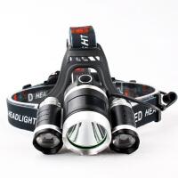 锂电池光头戴式头灯可充电远射打狩亮猎5000野外3000米夜间