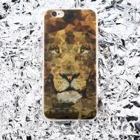 原创狮子超薄iPhone8//7/6s手机壳全包软壳苹果8/7/6plus保护套