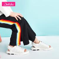 【3折价:98】笛莎女童鞋凉鞋中大儿童鞋休闲鞋网鞋运动鞋儿童鞋