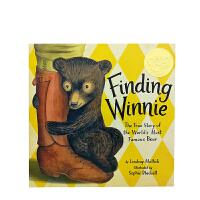进口英文Finding Winnie 寻找小熊维尼 凯迪克绘本金奖 [精装][3-8岁]