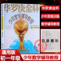 华罗庚金杯少年数学辅导教程初一年级教学中国少年儿童出版社正版