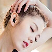 隐形无线蓝牙耳机迷你挂耳式超小通用车载运动耳塞SN0088 标配