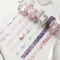 小清新樱花系列烫金和纸胶带 DIY贴画装饰贴纸创意手帐相册日记