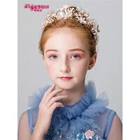 宝宝演出头箍女孩发饰儿童皇冠头饰公主女童王冠发箍