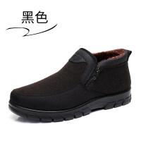 老北京布鞋男棉鞋冬季老人男鞋加绒保暖加厚中老年爸爸鞋大码