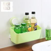 强力吸盘卫生间置物架壁挂厕所卫浴收纳架浴室用品架子