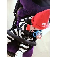 W 婴儿车垫冬韩版婴儿车垫推车坐垫宝宝伞车棉垫子餐椅安全座椅靠垫厚秋冬通用D25 紫色 水晶绒厚6cm