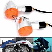 摩托车改装配件沙都竞速哈雷 风暴太子 转向灯总成 指示灯 转弯灯