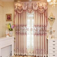 欧式窗帘窗纱纱帘落地飘窗纱窗帘纱布卧室双层客厅定制