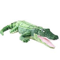 仿真鳄鱼毛绒玩具大号玩偶布娃娃鳄鱼抱枕玩偶男孩子创意生日礼物 鳄鱼