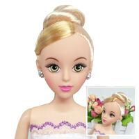 芭比娃娃裸娃素体12关节生日蛋糕装饰用娃娃烘焙模具公主装饰
