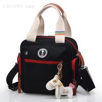 女士包包帆布单肩斜挎手提包多功能大容量女式旅行双肩包休闲背包