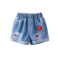 女童牛仔短裤夏薄款新款韩版时尚大童热裤女孩夏季裤子