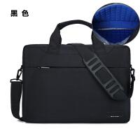 气囊防震笔记本电脑包15.6寸14寸适用联想华硕戴尔男女单肩手提包