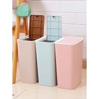 【支持礼品卡】垃圾桶分类家用客厅卧室卫生间有盖创意厨房大号纸篓塑料可爱带盖 kg3