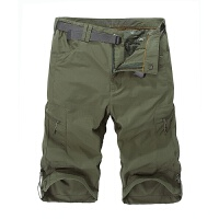 夏款户外正品喜登吉普男装速干短裤AFS JEEP七分裤 男士工装裤