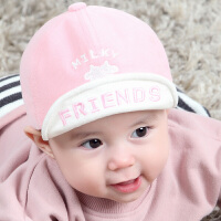 灯芯绒新生儿宝宝棒球帽婴儿帽1-24个月宝宝帽子99