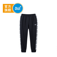 【下单立减2折价:47.8】361度男童加厚保暖长裤卫裤冬季新品 K51841558