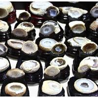 天然 玛瑙聚宝盆摆件紫水晶洞原石摆件招财 镇宅摆件