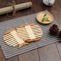 创意家居精致竹制餐垫隔热垫防烫垫 锅垫