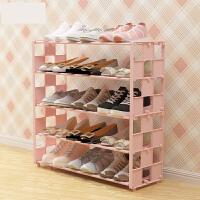 鞋架多层简易家用防尘组装经济型宿舍寝室布艺鞋柜小鞋架子收纳柜o2c
