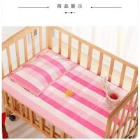 儿童老粗布凉席婴儿床幼儿园宝宝午睡折叠床席枕巾夏季 其他/other