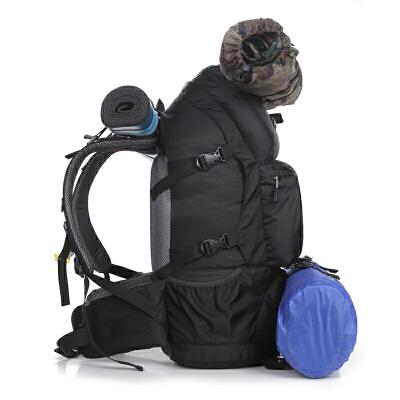 新款登山包户外野营双肩包50L升大容量男女旅行背包442