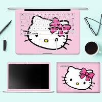 联想笔记本外壳贴膜IdeaPad S410p U330T电脑贴纸U/N410创意贴画