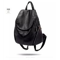 2018新款真皮双肩包女包大容量女士背包旅行包软皮包包潮