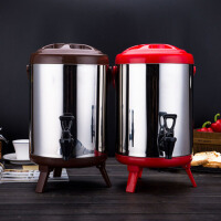 5P5 大容量不锈钢桶保温桶商用米饭热水龙头汤桶开水桶奶茶店饮料豆浆