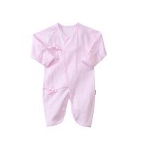 新款春夏秋冬季婴儿新生儿连体衣衣服春秋夏季初生婴儿0-3-6个月蝴蝶衣和尚服