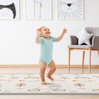 曼龙XPE宝宝爬行垫加厚环保无味婴儿泡沫地垫家用客厅儿童爬爬垫 森林大象定制款