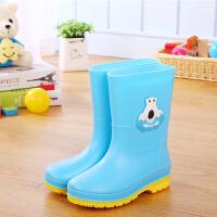儿童雨鞋男童女童宝宝雨靴防滑小童公主防水学生水靴卡通小孩水鞋