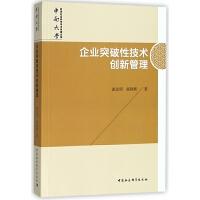 企业突破性技术创新管理/中南大学哲学社会科学学术专著文库