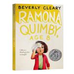 正版进口 永远的雷梦拉系列 蕾蒙娜八岁 英文原版 Ramona Quimby Age 8 纽伯瑞银奖 英文版儿童文学小