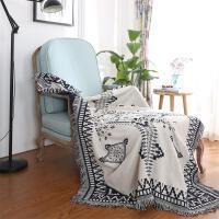 北欧沙发垫沙发巾简约现代沙发巾地毯防尘罩盖巾全盖加厚