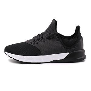 Adidas阿迪达斯  男子黑武士运动休闲轻便透气跑步鞋 BA8166
