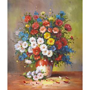 Y063郑美明 《花卉》