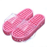浴室拖鞋女夏天居家用室内厚底情侣洗澡按摩塑料凉拖鞋男 600-1