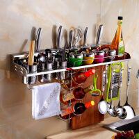 304不锈钢厨房置物架壁挂刀架厨房挂架层架