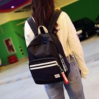 韩版学生双肩包女时尚糖果色尼龙旅行背包百搭学院风中学生书包潮