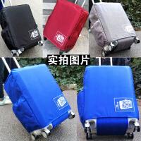 行李箱保护套拉杆箱加厚牛津布箱套箱子防水20寸24 26 28罩 透明