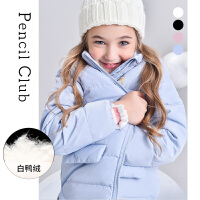 【秒��r:99元】�U�P俱�凡客��b2020秋冬女童羽�q服中大童加厚外套�和�保暖羽�q服